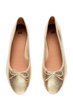 Ballet pumps - Gold - Ladies | H&M 2