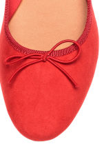 Ballet pumps - Red - Ladies | H&M CN 3