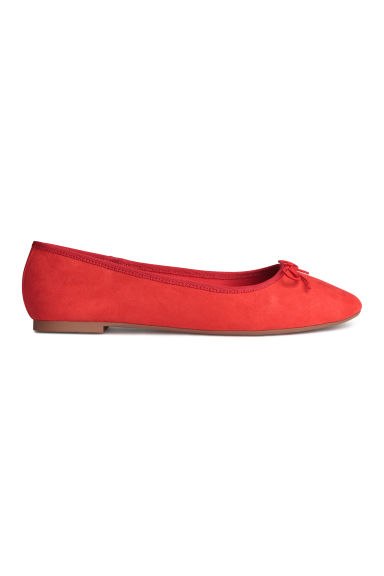 Ballet pumps - Red - Ladies | H&M 1
