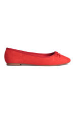 Ballet pumps - Red - Ladies | H&M CN 1
