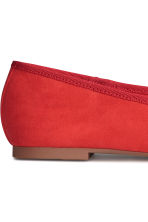 Ballet pumps - Red - Ladies | H&M 4