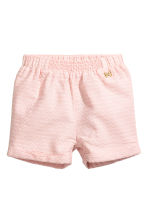 Cotton shorts - Powder pink - Kids | H&M CN 1