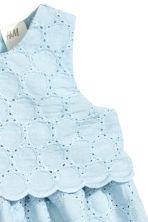 Cotton dress - Light blue - Kids | H&M CA 2