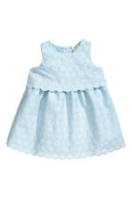 Cotton dress - Light blue - Kids | H&M CN 1