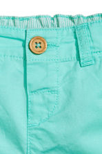 Cotton shorts - Turquoise - Kids | H&M 2