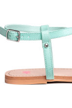 Sandals - Mint green - Kids | H&M 4
