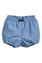 Cotton shorts - Blue/Chambray -  | H&M 1