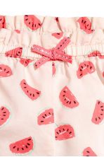 Cotton shorts - Light pink/Watermelon - Kids | H&M 2