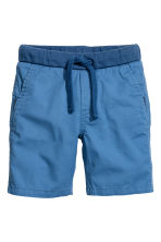 Twill shorts - Cornflower blue - Kids | H&M 2