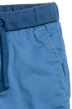 Twill shorts - Cornflower blue - Kids | H&M 3