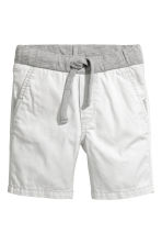 Twill shorts - Light grey - Kids | H&M 2