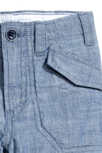Clamdiggers - Denim blue - Kids | H&M 4