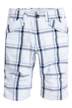 Clamdiggers - White/Checked - Kids | H&M 2