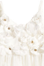 Tulle dress - Natural white -  | H&M 3