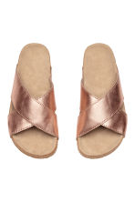 Leather sandals - Rose gold - Kids | H&M 2