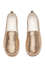 Canvas espadrilles - Gold - Kids | H&M 2