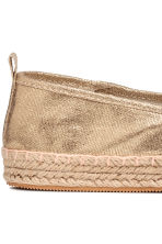 Canvas espadrilles - Gold - Kids | H&M 4