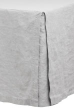Washed linen valance - Light grey - Home All | H&M CN 2