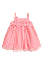 Tulle dress - Pink -  | H&M 1