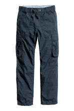 Cargo trousers - Dark blue - Kids | H&M CN 3