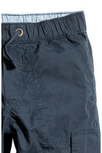 Cargo trousers - Dark blue -  | H&M 4