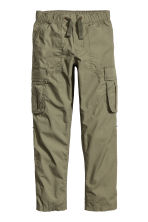 Cargo trousers - Khaki green - Kids | H&M CN 3