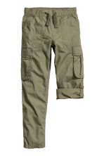 Cargo trousers - Khaki green - Kids | H&M CN 2