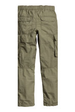 Cargo trousers - Khaki green -  | H&M CN 4