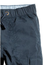Generous fit Cargo trousers - Dark blue - Kids | H&M 3