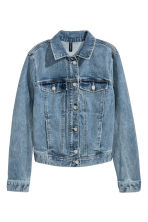Denim jacket - Light denim blue - Ladies | H&M CA 2