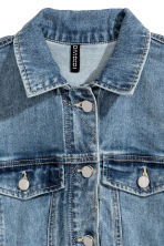Denim jacket - Light denim blue - Ladies | H&M CA 3