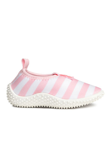 Water shoes - Lt.pink/White stripe -  | H&M CN