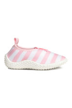Water shoes - Lt.pink/White stripe -  | H&M 1