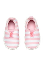 Water shoes - Lt.pink/White stripe -  | H&M 2