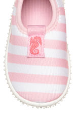 Water shoes - Lt.pink/White stripe -  | H&M 3