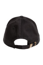 Cotton cap - Black - Men | H&M 2