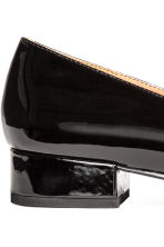 Patent loafers - Black -  | H&M 4