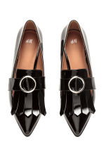 Patent loafers - Black -  | H&M 2