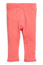 2-pack leggings - Coral pink - Kids | H&M CN 2