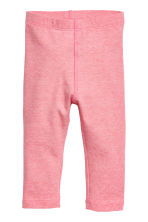 2-pack leggings - Pink/Striped - Kids | H&M 2