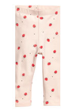 2-pack leggings - Pink/Striped - Kids | H&M 3