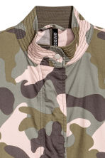 Cotton parka - Khaki green/Patterned - Ladies | H&M 3