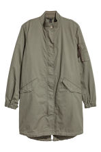 Cotton parka - Khaki green - Ladies | H&M CN 2