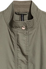 Cotton parka - Khaki green - Ladies | H&M CN 3