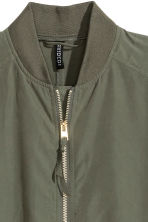 Modal-blend jacket - Khaki green - Ladies | H&M GB 3