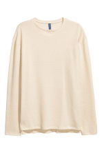 Knitted jumper - Light beige - Men | H&M 2