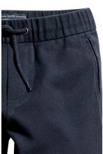Pull-on cotton trousers - Dark blue - Kids | H&M 2