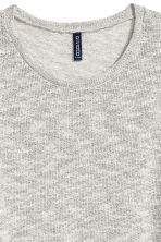 Loose-knit jumper - Grey marl - Men | H&M CN 3