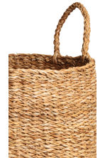 Large braided storage basket - Natural - Home All | H&M IE 4