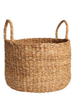 Large braided storage basket - Natural - Home All | H&M IE 3